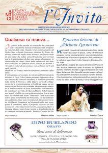 """""""L'Invito"""" gennaio 2020, formato PDF"""